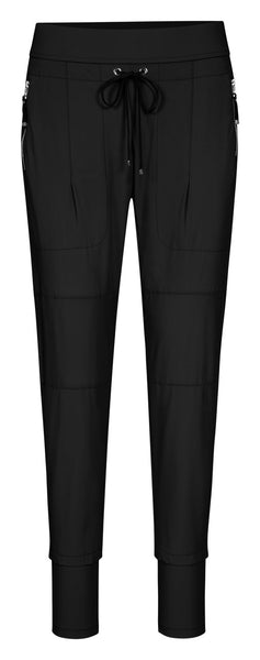 Raffaello Rossi  Candy Pant online Australia relaxed comfortable black drawstring pants online Australia Signature of Double Bay Raffaello Rossi Pants online
