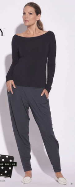Paula Ryan Ankle Pleat Basque Pant 7856 More colours available