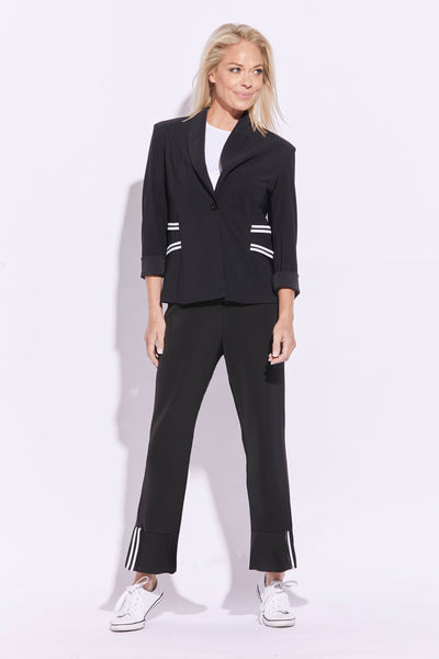 Paula Ryan Stockist Australia Signature of Double Bay Paula Ryan Navy Suit pants 7827