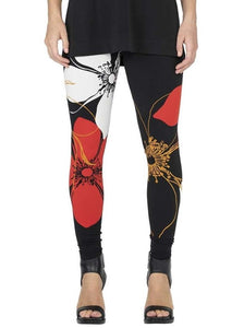 Reversible Floral High Waisted Legging P12379R
