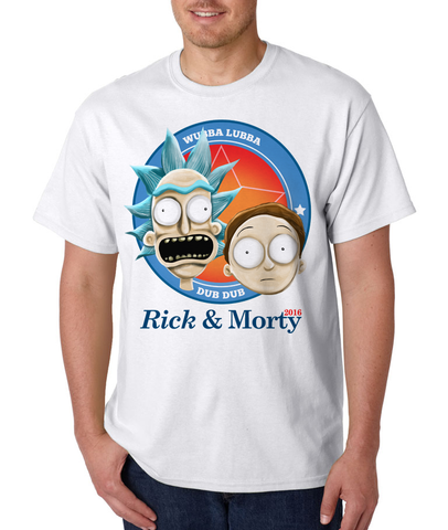 """Now More Than Ever"" Rick and Morty 2016 Election T-shirt"