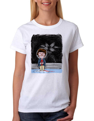 """Behind You Barb!"" Stranger Things -shirt"