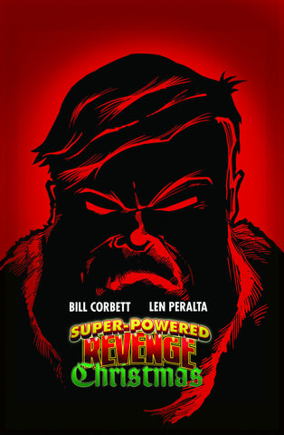 """Super Powered Revenge Christmas"" Graphic Novel"