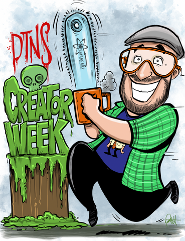 """DTNS Creator Week with Frank Ippolito"" DTNS 10/9/20 8.5 x 11 ArtProv Print"