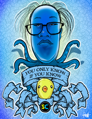 """You Only Know If You Know"" DTNS 5/29/20 8.5 x 11 ArtProv Print"