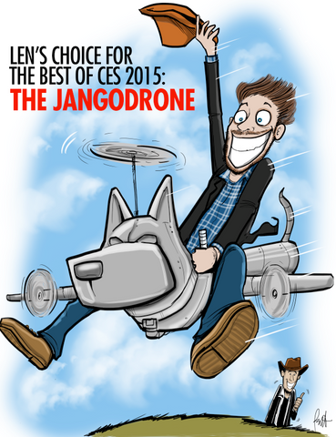 """The JangoDrone"" Print"
