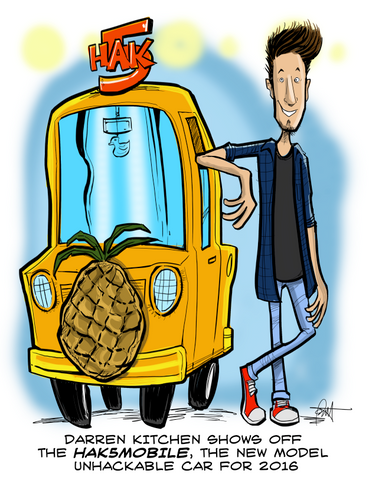 """The Hak5Mobile"" DTNS 7/24/15 Print"