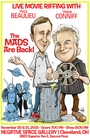 """The Mads Are Back"" Cleveland Show Poster -Autographed"