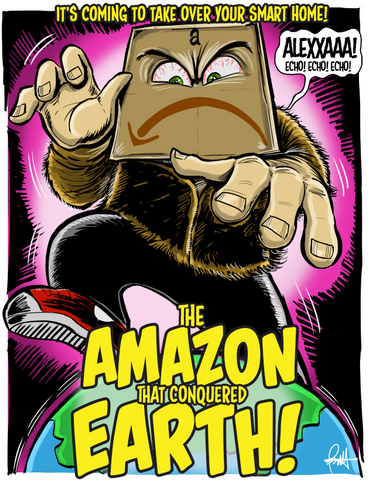 """The Amazon That Conquered Earth"" DTNS 2/26/16 Print"