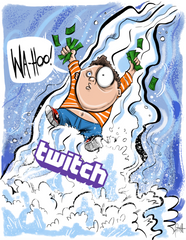 """Monetize the Twitch Stream""  DTNS 4/21/17 Print"