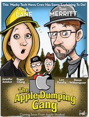 """The Apple Dumping Gang""  DTNS 9/1/17 Print"