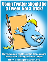 """Twitter Safety Rules!""  DTNS 10/20/17 Print"