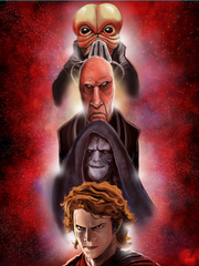 """Darth Lineage"" 16 x 20 Glossy Poster"