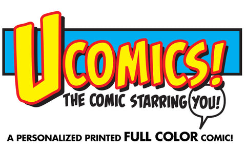 UComic! Personalized FULL COLOR Comic 11x17 Print