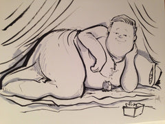 "Frank Conniff  ""Titanic"" - DragonCon 2014 Original Sketch"