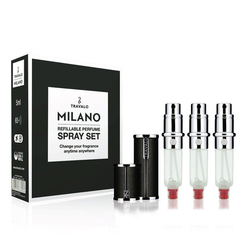 Travalo Black Milano Spray Set 5ml
