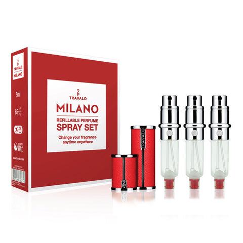 Travalo Red Milano Spray Set 5ml