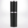 The Essential Atomizer Saffiano Real Leather Silver 8ml Fragrance Atomizer image 2