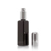 Thin black glass 30ml atomizer image 2