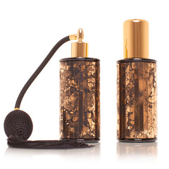 Black & gold pattern mirror 100ml his & hers 2 Piece set