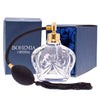 Hand cut bohemia Crystal fragrance Atomizer with gold fitting image 2