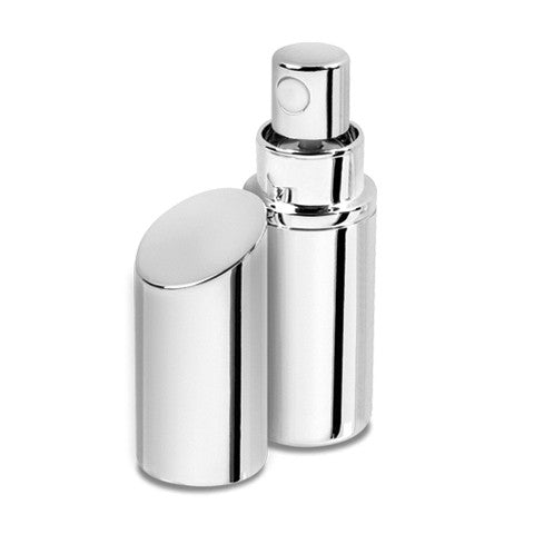 Silver Plated 5ml fragrance atomizer