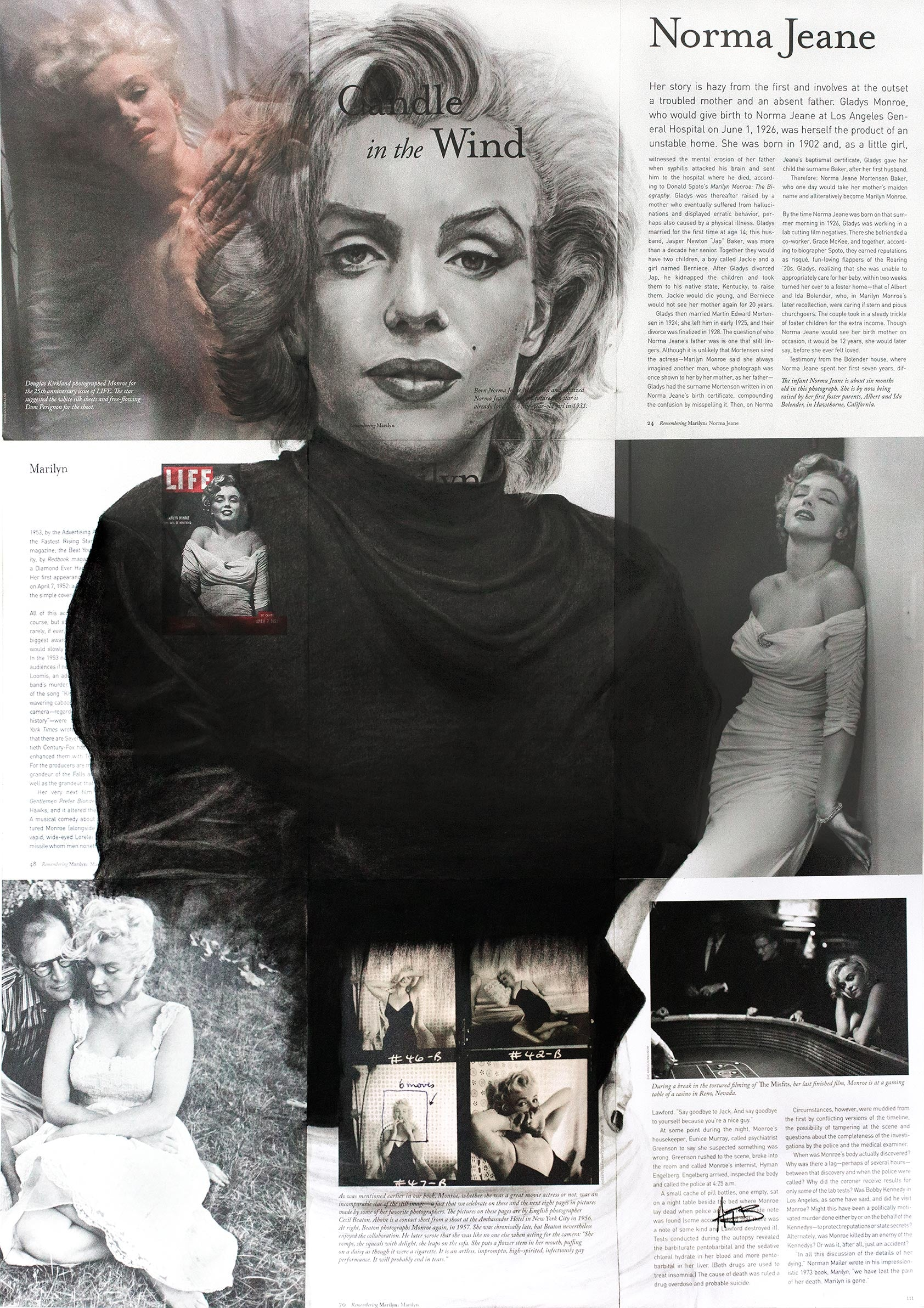 MARILYN MONROE 'Candle in the Wind'
