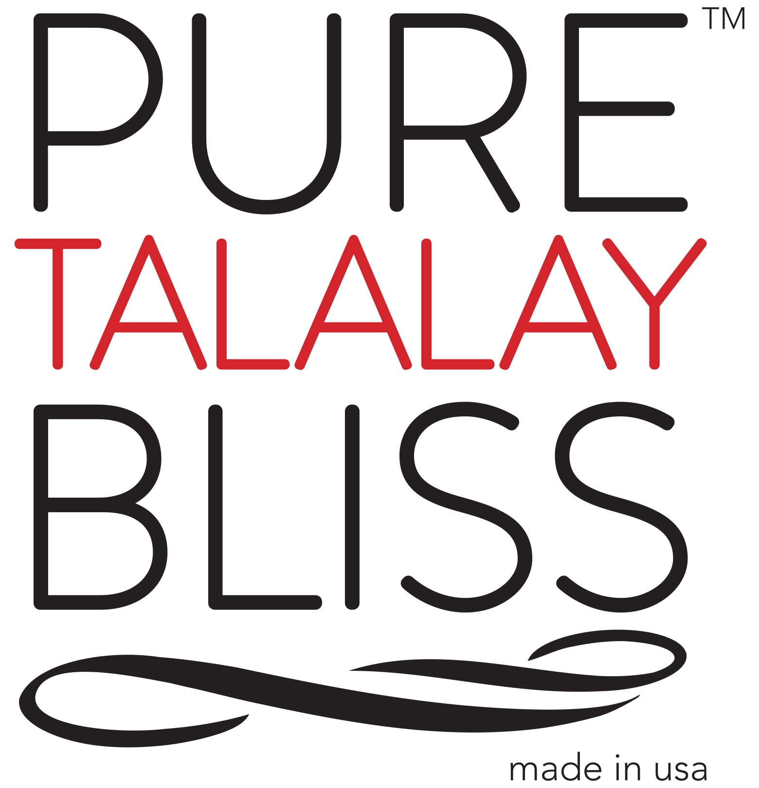"Pure Talalay Bliss Wave Toppers - 2"", 3"" - Plush or Firm"