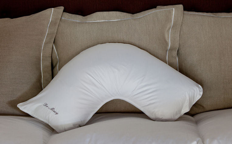 The Pillow Bar Side Sleeper Down Pillow