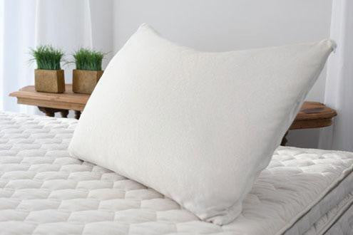 in pillow organic ship the pillows bedding handmade free for usa contiguous white