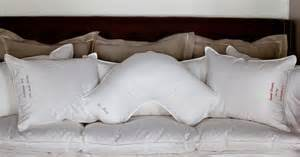 The Pillow Bar Alternative Down Pillow in three sizes and three fills