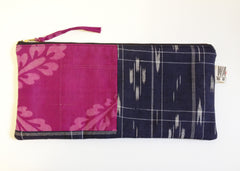Japanese Patchwork Large Padded Zip Bag