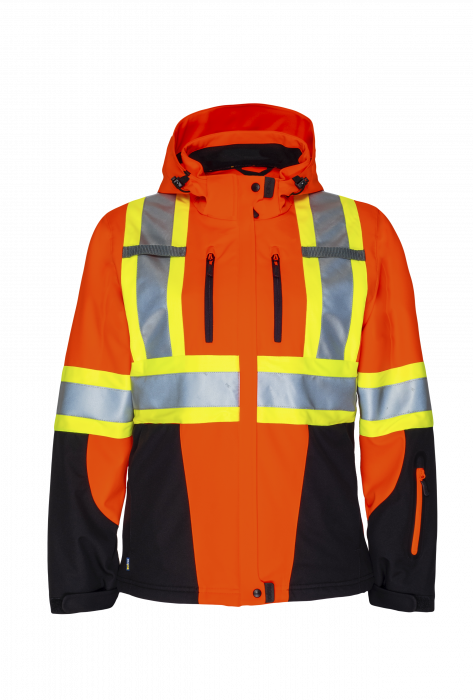PROJOB Womens' Hi Vis Softshell Jacket