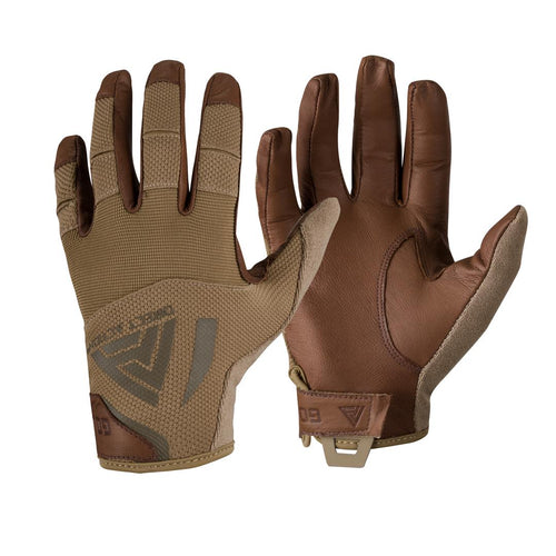 Direct Action Hard Leather Gloves