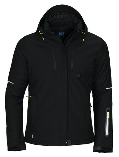 PROJOB Women's 3 Layer Functional Insulated WR Softshell
