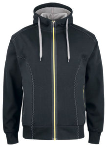 PROJOB Hooded Jacket With Softshell Sides