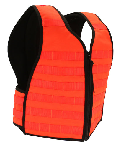 Duty Apparel - Next Gen Blaze Orange MOLLE Vest