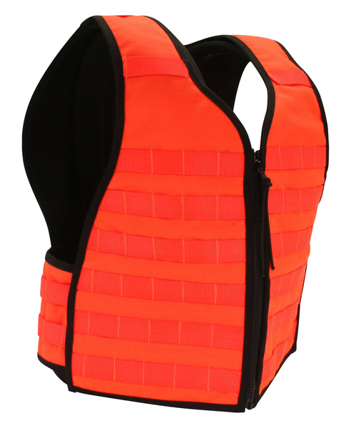 Next Gen Blaze Orange MOLLE Vest