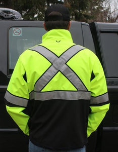 Duty Apparel - Hi Vis Tactical Softshell