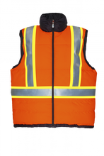Load image into Gallery viewer, PROJOB Hi Vis Insulated & Reversible Vest