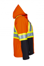 Load image into Gallery viewer, PROJOB Womens Hi Vis 3 Layer Insulated Softshell Jacket