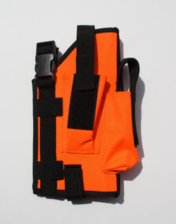 Hi Vis Orange MOLLE Holster