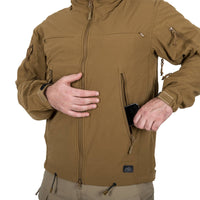 Helikon-Tex Cougar QSA + HID Jacket Softshell Wind Bocker