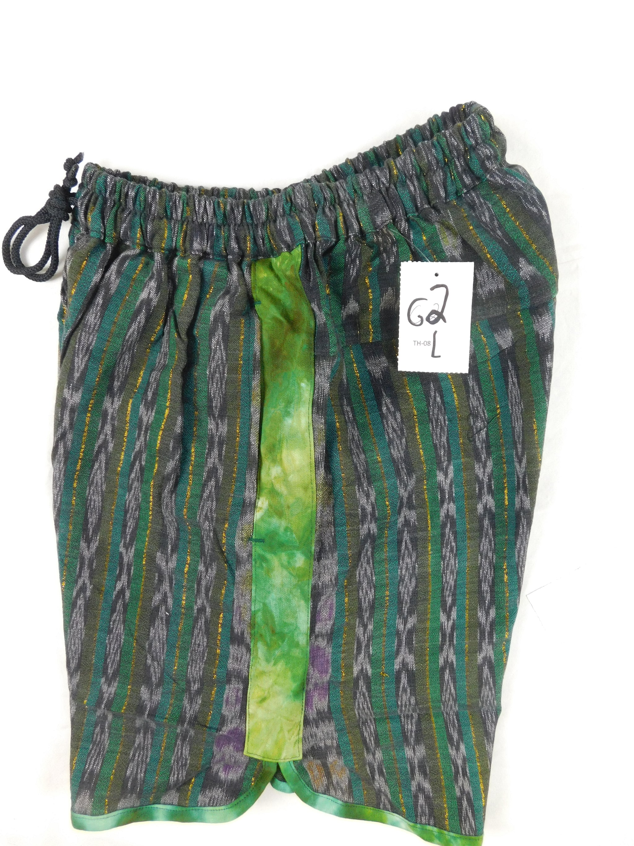 Summer Shorts in Native Cotton with Tie Dye Accents
