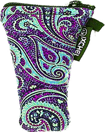 "5"" Paisley Arrowhead Protection pouch"