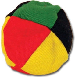 8 panel Rasta footbag