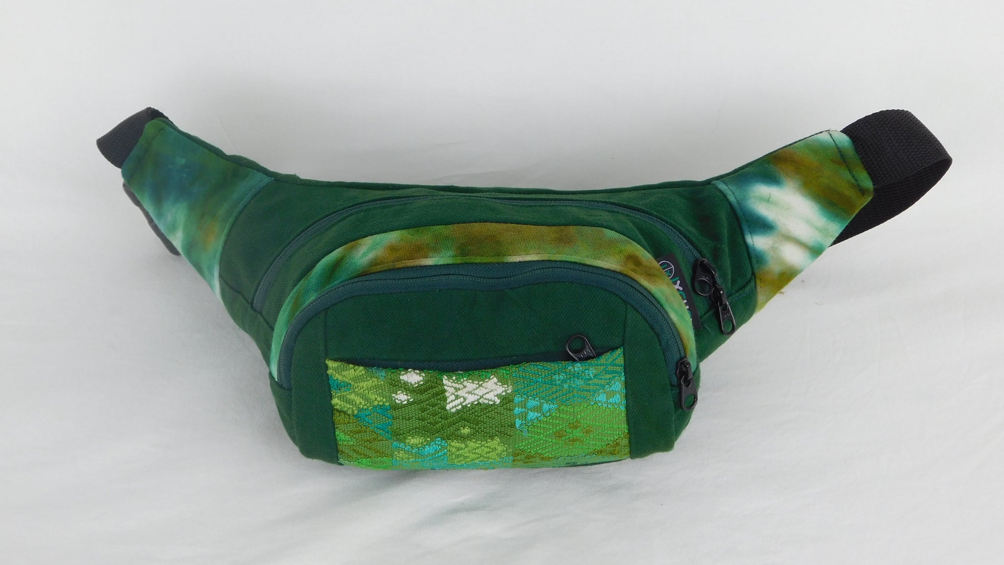 Extra Large 3 Pocket Waist Pack in Tie Dye