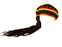 Crochet Tam with Dreadlocks