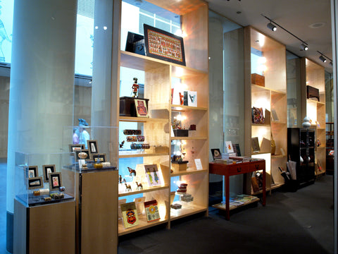 South Court Displays in the Museum Store