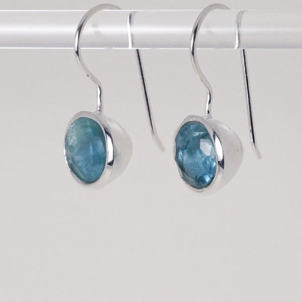 Lotus Seed Earring with Apatite stone